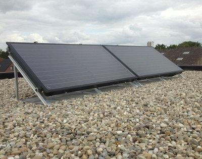 Goovaerts Verwarming - Buderus zonnepanelen